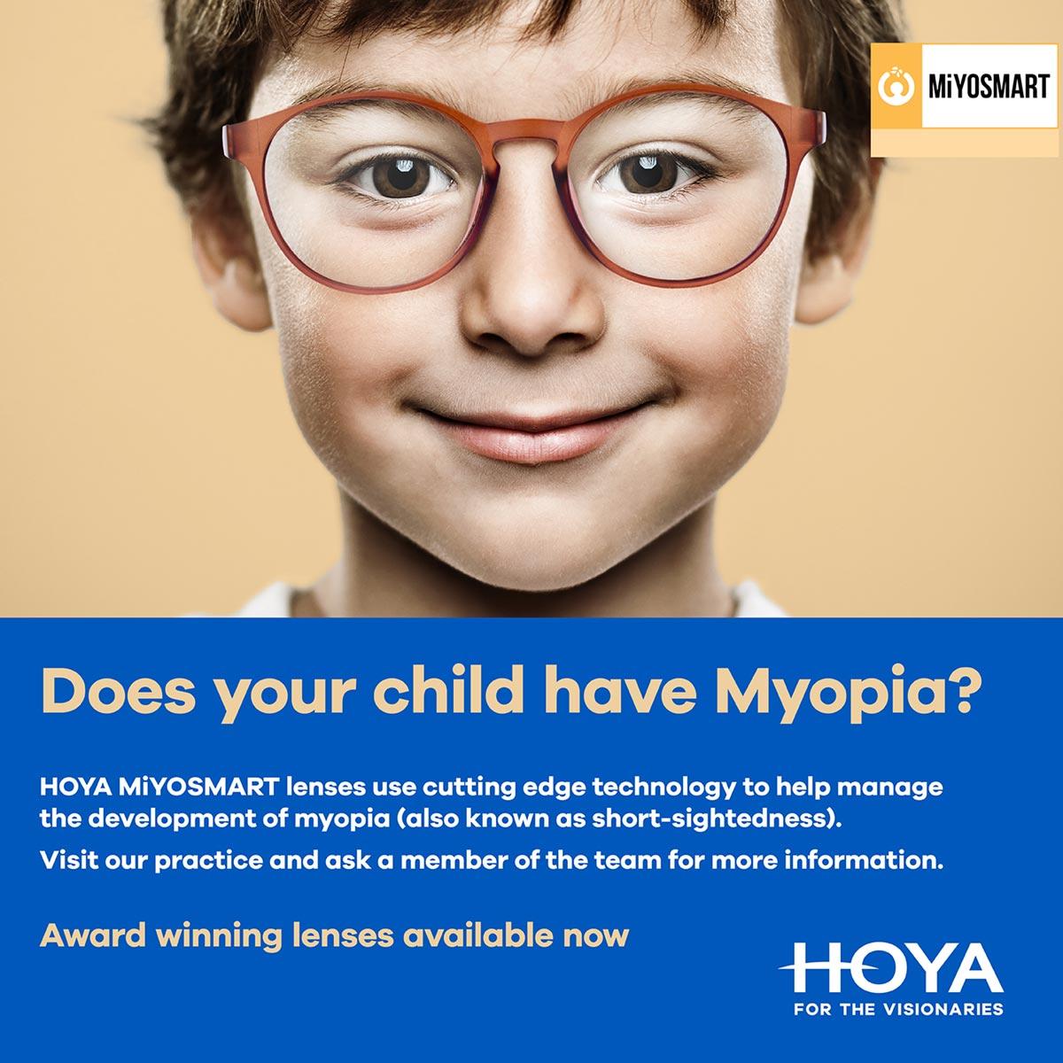 Myopia control – the latest development