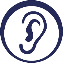 Test your hearing online icon